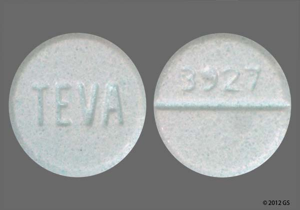 blue diazepam no markings